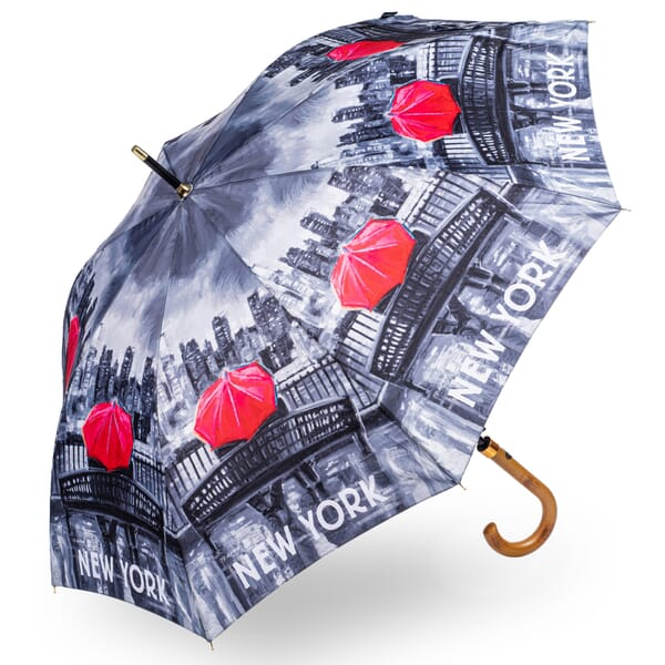 Soake New York Black and White StormKing Umbrella