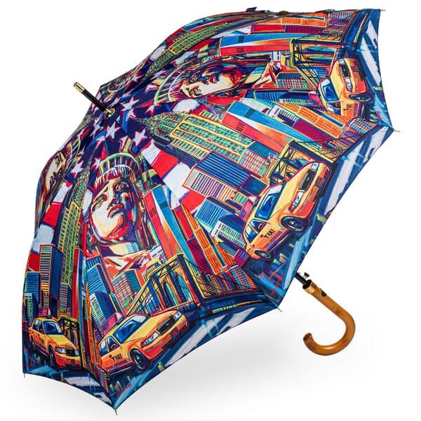 New York Colour stick umbrella from StormKing